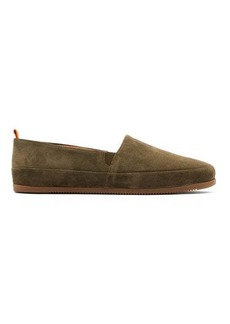 Mulo Shearling-lined suede espadrilles