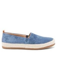 Mulo Suede espadrille loafers
