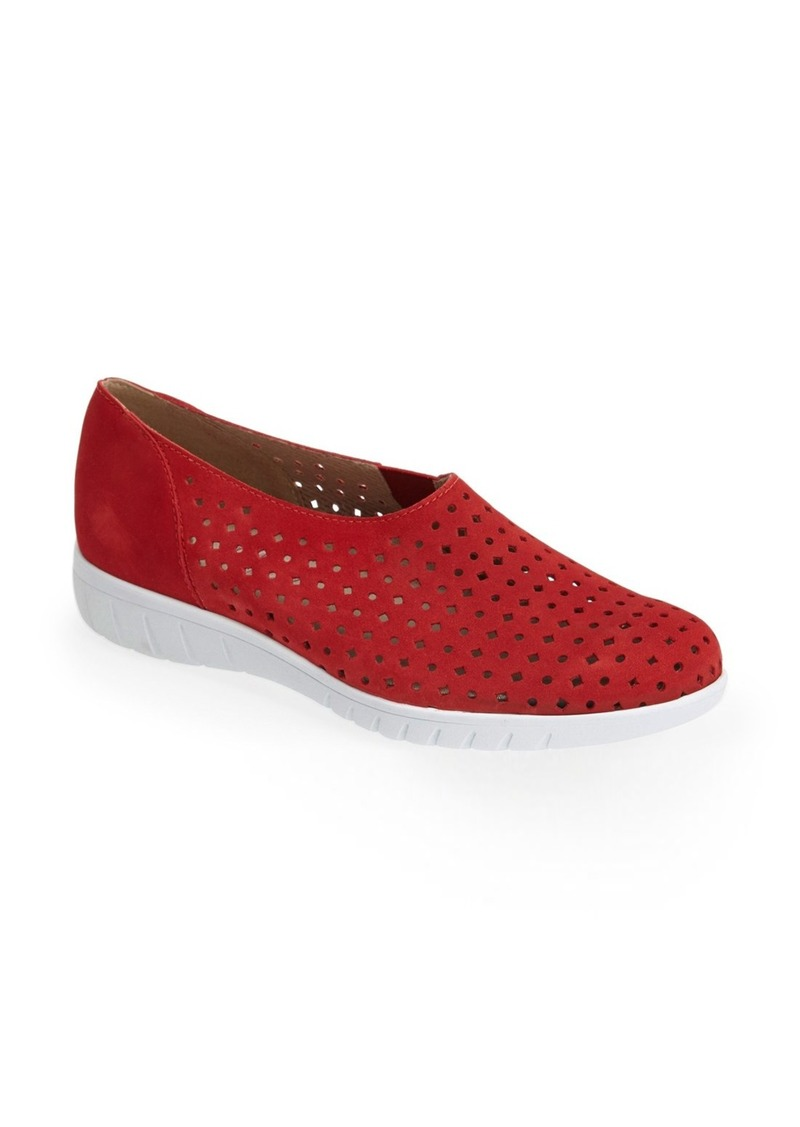 3dd4fc73527 On Sale today! Munro Munro  Skipper  Perforated Leather Sneaker (Women)