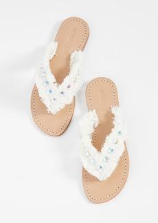 Mystique Fringe Thong Sandals