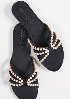 Mystique Imitation Pearl Sandals