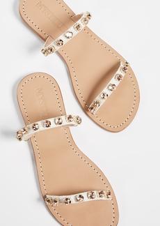 Mystique Jewel Two Strap Slide Sandals