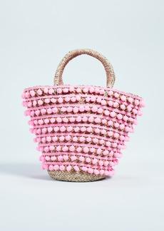 Mystique Pom Pom Tote Bag