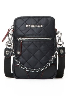 Mz Wallace Micro Crosby Crossbody Bag - Black