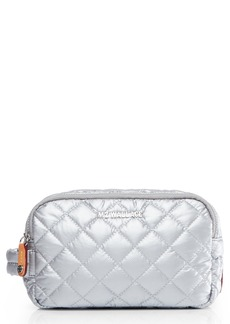 MZ Wallace Sam Quilted Nylon Cosmetics Case