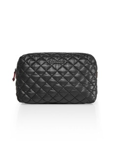 MZ Wallace Oxford Mica Quilted Cosmetic Bag
