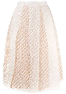 Nº21 A-line fluffy skirt