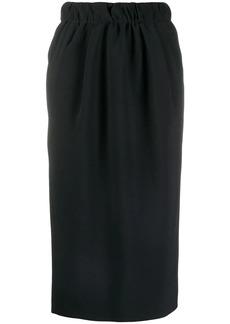 Nº21 chain-detail pencil skirt