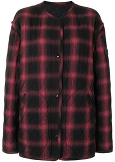 Nº21 Checked Quilted Jacket