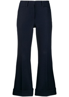 Nº21 Cropped straight leg trousers