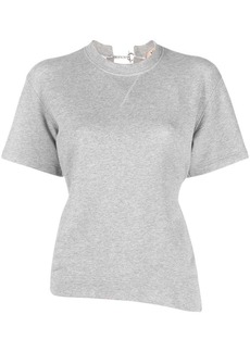 Nº21 cut-out cotton T-shirt