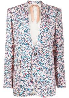 Nº21 daisy print blazer