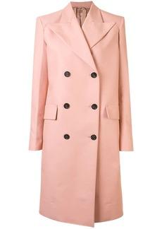 Nº21 double-breasted midi coat