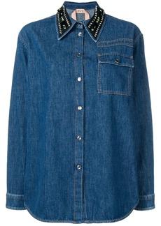 Nº21 embellished collar shirt