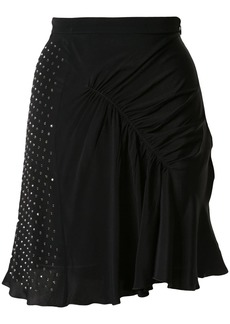 Nº21 embellished gathered skirt