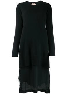 Nº21 Entredeux trim camisole dress
