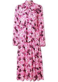 Nº21 floral scarf detail dress
