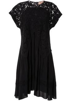 Nº21 lace overlay dress
