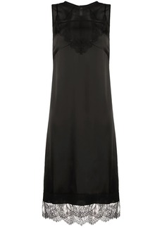 Nº21 lace-trim sleeveless dress