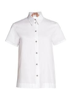 Nº21 Layered Open-Back Shirt