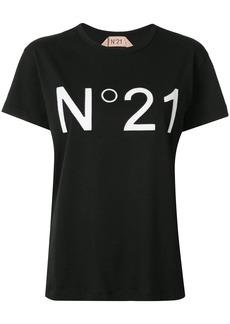 Nº21 logo-appliqué crew-neck T-shirt