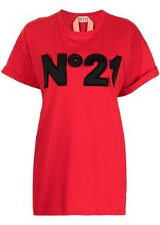 Nº21 logo-patch T-shirt