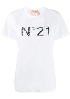 Nº21 logo print short-sleeved T-shirt