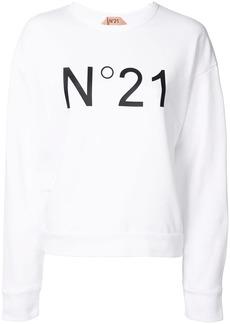 Nº21 logo print sweatshirt