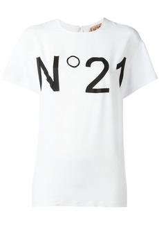 Nº21 logo print T-shirt