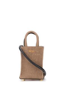 Nº21 mini leather shopper bag