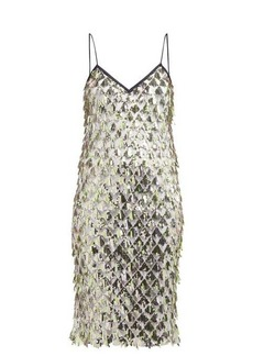 Nº21 No. 21 Jersey-lined sequin dress