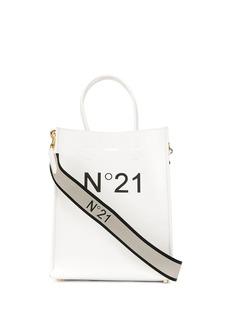 Nº21 printed logo tote
