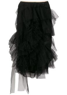 Nº21 ruffle trimming skirt
