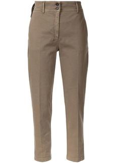 Nº21 slim cropped trousers