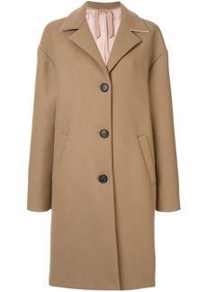 Nº21 wool oversized single breast coat