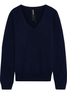 Naadam Woman Mélange Cashmere Sweater Navy