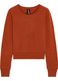 Naadam Woman Cropped Cashmere Sweater Tan