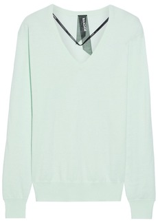 Naadam Woman Cotton And Cashmere-blend Sweater Mint
