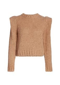 Naadam Puff-Sleeve Sweater