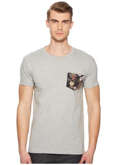 Naked & Famous Antique Botanical Painting Pocket T-Shirt