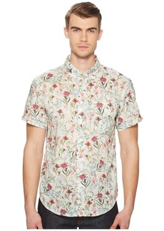 Naked & Famous Antique Botanical Painting Shirt