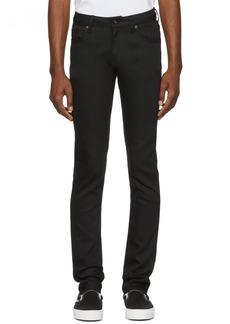 Naked & Famous Black Power Stretch Jeans