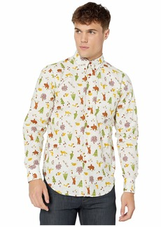 Naked & Famous Easy Shirt - Creatures Of The Forest Button-Down Shirt