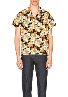Naked & Famous Denim Japanese Aloha Festival Shirt