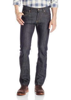 Naked & Famous Denim Men's Deep Indigo Slub Skinny Guy Jeans Dry