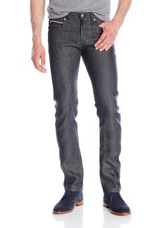 Naked & Famous Denim Men's Skinnyguy Charcoal Selvedge Jeans