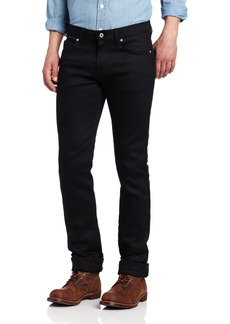 Naked & Famous Denim Men's SkinnyGuy Jean In Black Power-Stretch Black Power-Stretch x35