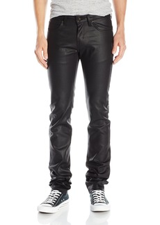 Naked & Famous Denim Men's Skinnyguy  Waxed Stretch Jeans