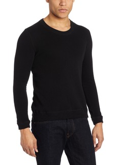 Naked & Famous Denim Men's Slim Fit Long Sleeve Double Face Knit Shirt