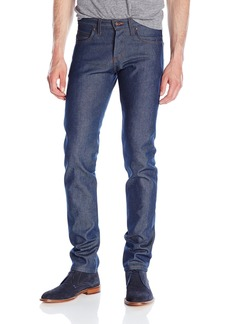 Naked & Famous Denim Men's Superskinnyguy Natural  Selvedge Jeans